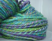Dragonfly - 2-ply blue faced leicester (BFL) handspun yarn - DK/worsted, 417 yards, 8.0 ounces