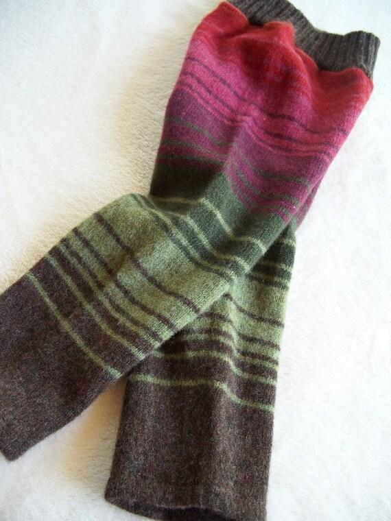 Repurposed Wool Pants Longies Diaper Cover - Medium/Large