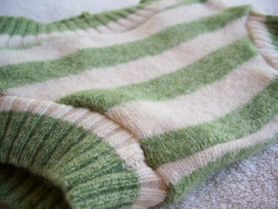 Repurposed Wool Diaper Cover Soaker Double Layered - Newborn