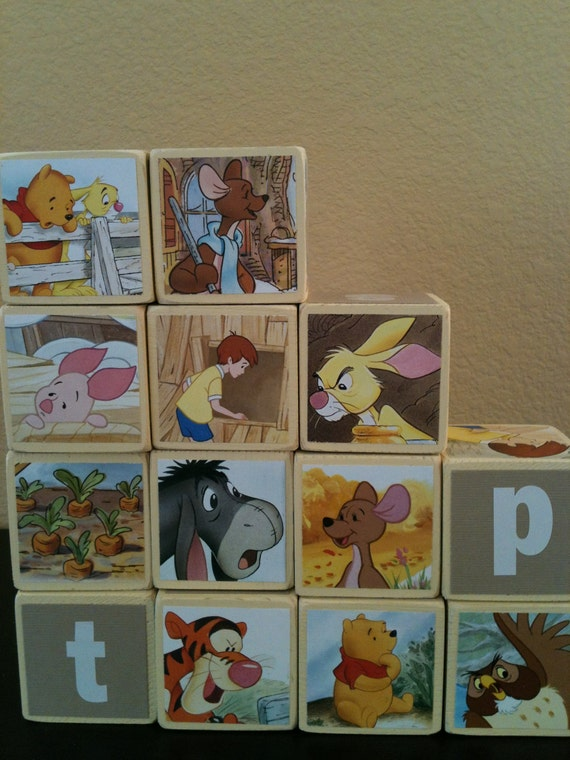 Winnie the Pooh Building Blocks