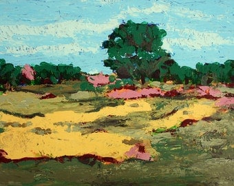 Acrylic Landscape Original Artwork Painting