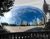 Chicago Bean Reflection - 8x10 print