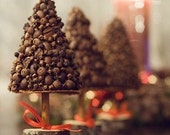 Christmas Tree - Mini  Christmas Tree - Scented Decoration - Christmas Topiary - Christmas Gift - Alternative Christmas Tree