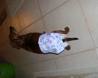 "dog diaper female 16-17"" waist"