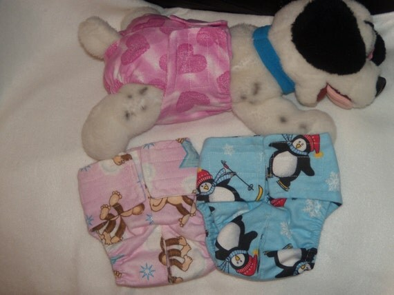 Female dog diapers set of 5