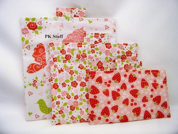 PK Happy Baggy Set - Strawberry Tea Party - Ready To Ship