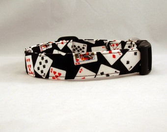 Awesome Playing Cards Poker Dog Collar