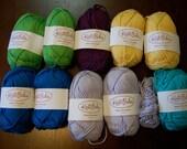 Destash-  Knit Picks Shine Worsted Yarn