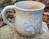 River Otter Footprint Mug