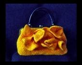 Gallery reservation SALE  50% OFF  Felted handbag waves