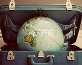 World Traveler - Vintage Inspired Print