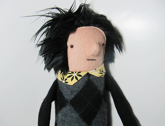 Plush Fabric Boy Man Doll
