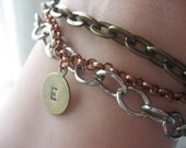 Mixed metal chain bracelet Custom