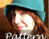 CROCHET PATTERN for The Flapper Hat