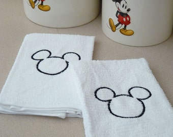 Mickey Kitchen Towel Set - Custom Embroidered
