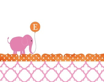Preppy Elephant Notes (20 printed)