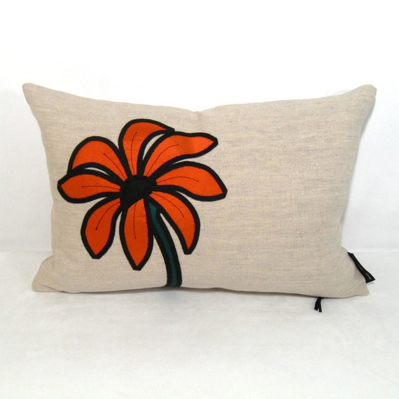 Items Similar To Orange Pillow