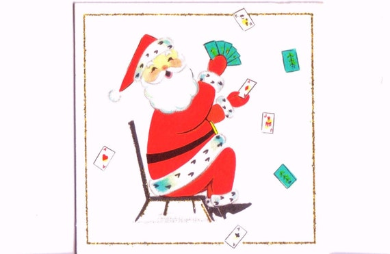 Image result for christmas playing card pictures