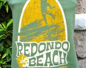 Redondo Beach t shirt UPCYCLED into the STYLE of YOUR Choice