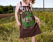 The UPCycled T Shirt Dress SEND me YOUR  t SHIRT