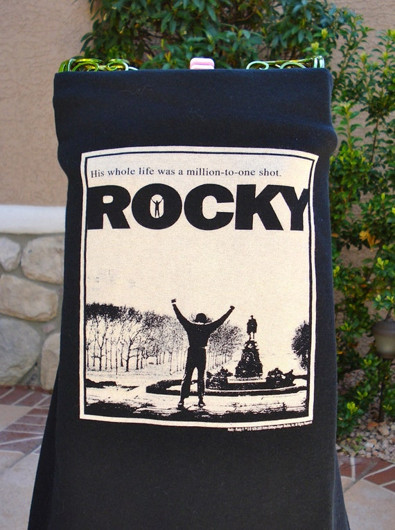 """The UPCycled T Shirt Dress """"Rocky"""" MOVIES NO. 3  One Size Fits 2T - 6"""