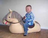 Animal Beanbag STOCK CLEARANCE - 50% OFF ready made Horse Beanbag