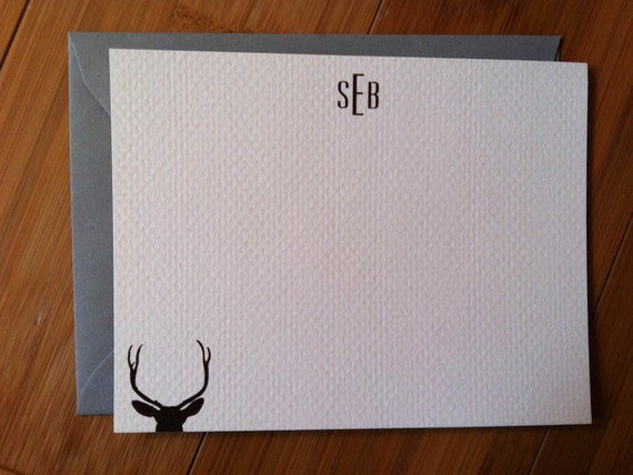 Stag Antlers Stationery