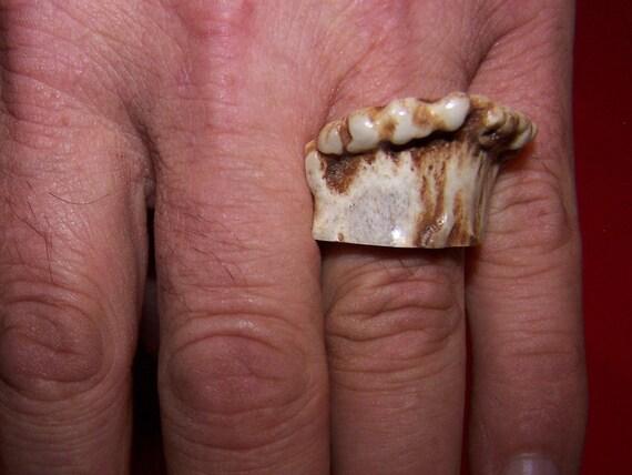 Antler Crown Ring 12