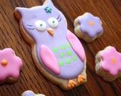 Owl Cookie Favors - Party Owl, Night Owl