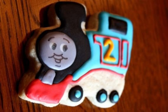 Train Cookie Favors - Thomas and Friends