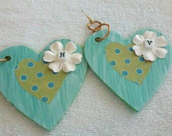 Heart Earrings, Large Earrings, Valentine Earrings, Valentine Jewelry, Huge Earrings, Diva Earrings, Big Earrings,Lovers Earrings,
