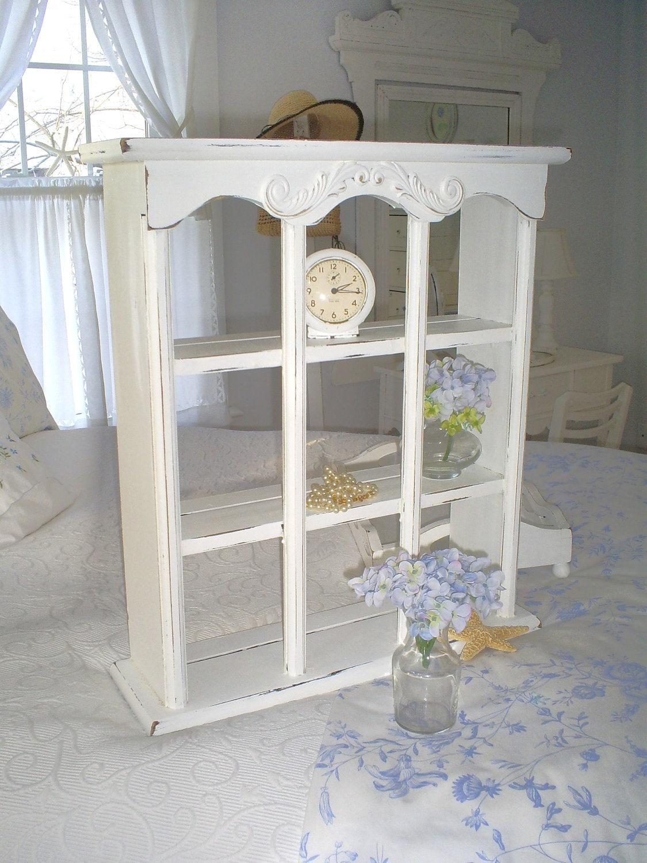 vintage shabby chic shelf white furniture. Black Bedroom Furniture Sets. Home Design Ideas