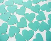 My heart belongs to Tiffany - 100 die cut hearts