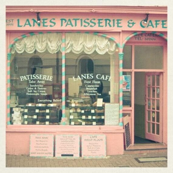Sweet Cafe 5 x 5 Print