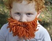 Baby Orange Yarn Beard