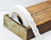 Self Adhesive White Lace tape