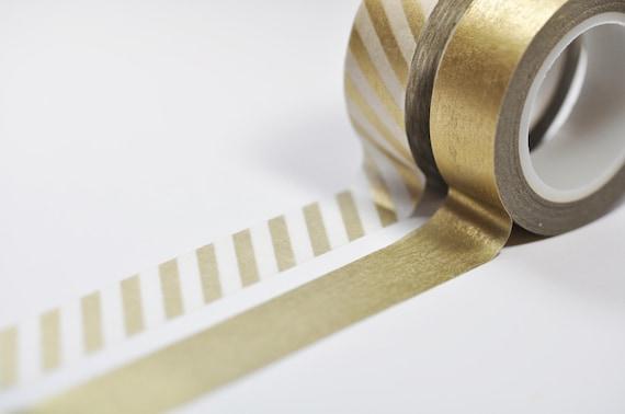 Metallic Gold Washi Tape Set