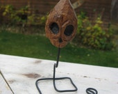 mini skull small hand carved skull halloween