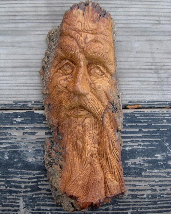 Charlie wood carving hand carved cottonwood bark by seangrady