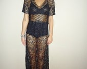 Hold for racheal until friary handmade vintage silk reconstructed lace victorian dress size xs or sm custom made