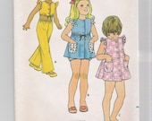 Children's Pattern, Butterick 6625, Size 4, 1970's