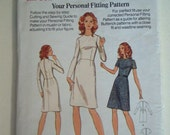 Vintage Butterick 3002 Size 6  1970's fitting pattern UNCUT and in great condition