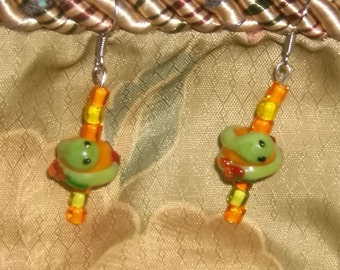 Sammy the Snake Earrings