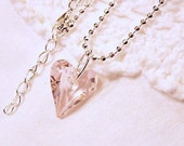 Wild Heart Rose Crystal-Necklace R 9455