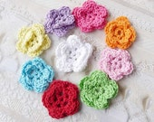 Double Crochet-Small Flowers  S 9804