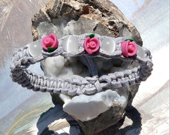 Good Vibrations-Grey Suede-Bracelet-R 613