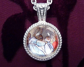 Benjamin Bunny-Beatrix Potter-Necklace R 4030