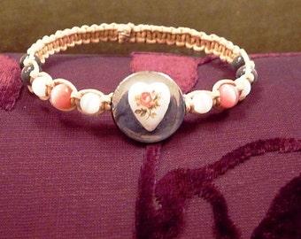 Vintage Heart-Bracelet-R 6789