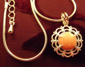 CLEARANCE  Natural Coral-Necklace R 8140