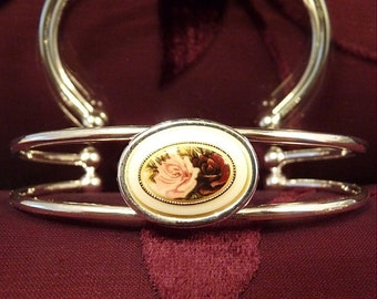 Double Or Nothing-Antique Cabochon-Cuff-Bracelet R 9111